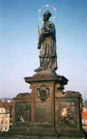Statua di San Giovanni Nepomuceno a Praga